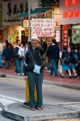 Travel photography:Protester in Hong Kong, China