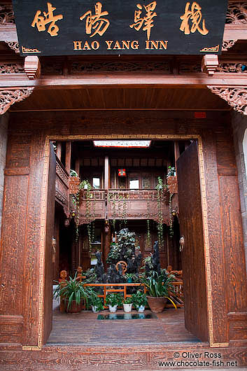 Old wooden house in Lijiang