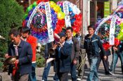 Travel photography:Funeral procession in Dali, China