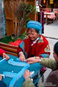 Travel photography:Women playing in Dali, China