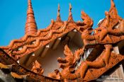 Travel photography:Kunming Yuantong temple rood detail, China