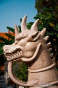 Travel photography:Yuantong temple guardian in Kunming, China
