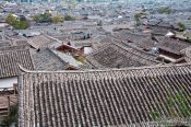 Travel photography:Roofs of Lijiang´s old town, China