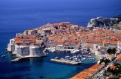 Travel photography:Panoramic view of Dubrovnik, Croatia