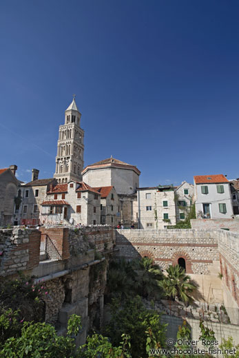 Diocletian`s Palace in Split