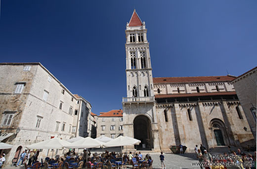 The Katedrala Sveti Lovrijenac (Saint Lawrence Cathedral) in Trogir