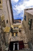 Travel photography:Houses in Sibenik, Croatia