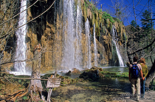 Waterfalls in Plitvice (Plitvicka) National Park