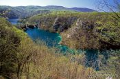 Travel photography:Lake and river landscape in Plitvice (Plitvicka) National Park, Croatia