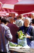 Travel photography:Zagreb market, Croatia