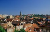 Travel photography:Zagreb panorama, Croatia