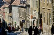 Travel photography:Zagreb street, Croatia