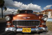 Travel photography:A 1955 Chevrolet in Cienfuegos, Cuba