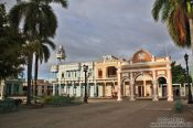 Travel photography:Cienfuegos main square, Cuba