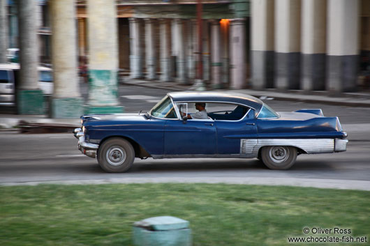 One of the many oldtimers in Havana