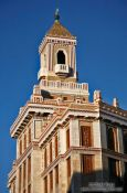 Travel photography:The Bacardi building, Cuba