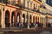 Travel photography:Houses near the Capitolio, Cuba