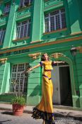 Travel photography:Walking on stilts through Havana Vieja, Cuba