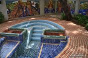 Travel photography:Baptistry at the orthodox monastery in Havana, Cuba