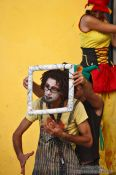 Travel photography:Performance artists in Havana Vieja, Cuba