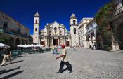 Travel photography:Havana Plaza de la Catedral, Cuba