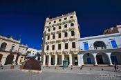 Travel photography:Havana Plaza Vieja, Cuba