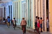 Travel photography:Sancti-Spiritus street, Cuba