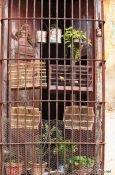 Travel photography:Doubly caged birds in Trinidad, Cuba