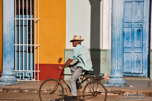 Cyclist in Remedios