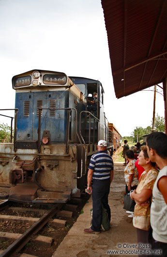 Train from Remedios to Santa Clara