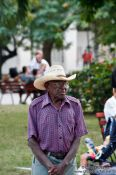 Travel photography:Man in Santa Clara, Cuba