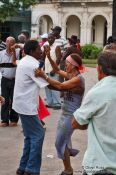 Travel photography:Sunday dance at Santa Clara, Cuba