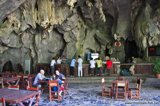 Cave bar at the Palenque de los Cimarrones