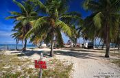 Travel photography:Military post at Cayo-Jutias beach, Cuba