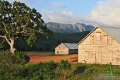 Travel photography:Tobacco huts near Viñales, Cuba
