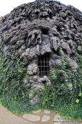 Travel photography:Fake limestone cave wall in the Waldstein Palace (the seat of the Czech Senate - the palace not this cave), Czech Republic