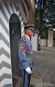 Travel photography:Castle guards, Czech Republic