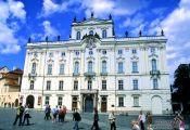 Travel photography:Palace in Prague Castle, Czech Republic