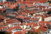 Travel photography:Houses in the Lesser Quarter, Czech Republic