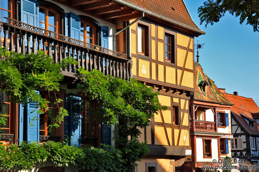 Houses in Obernai