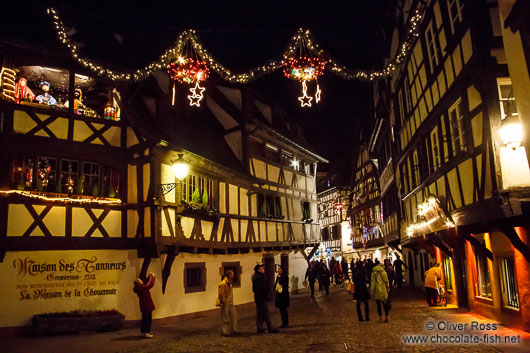 Strasbourg Christmas decorations