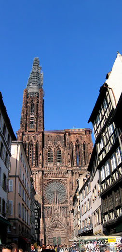 The Muenster (cathedral) in Strasbourg
