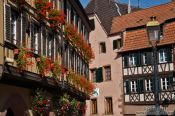 Travel photography:Facades in Barr, France