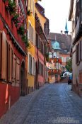 Travel photography:Street in Barr, France