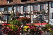 Travel photography:Main square in Barr, France