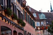 Travel photography:Houses in Barr, France
