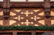 Travel photography:Facade detail in Obernai, France