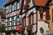 Travel photography:Houses in Obernai, France