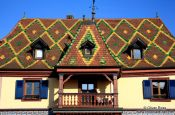 Travel photography:House in Obernai, France
