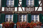 Travel photography:Obernai pharmacy, France